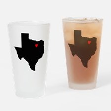 Home State - Texas Drinking Glass