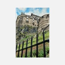 Edinburgh Castle Rectangle Magnet