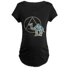 A.A. Camel Maternity T-Shirt