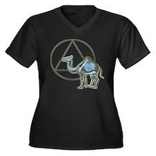 A.A. Camel Plus Size T-Shirt