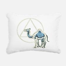 A.A. Camel Rectangular Canvas Pillow