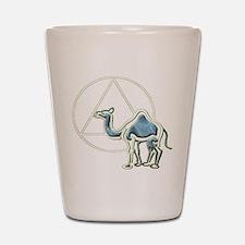 A.A. Camel Shot Glass