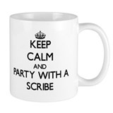 Scribe Small Mugs (11 oz)