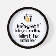Beer Believe - Wall Clock