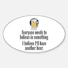 Beer Believe - Decal