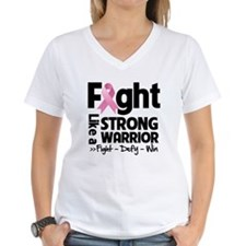 Fight Strong Breast Cancer Shirt