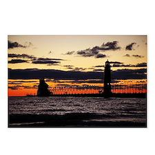 Lake Michigan Postcards (Package of 8)