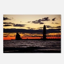 Lake Michigan Postcards (Package of 8)