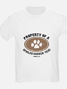 Cocker Pug  dog Kids T-Shirt