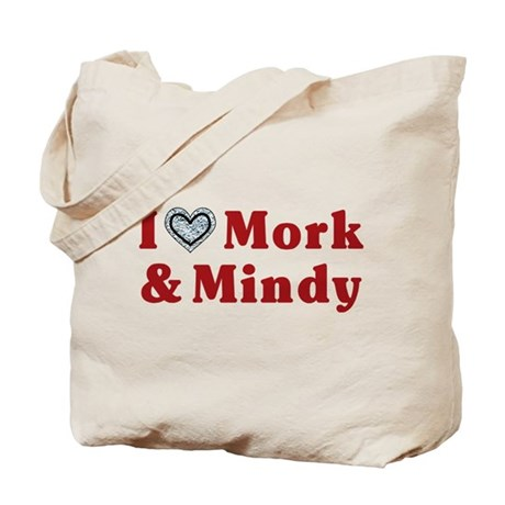 I Love Mork And Mindy Tote Bag