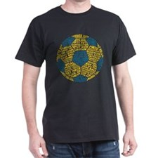 Soccer Ball Football Typography T-Shirt