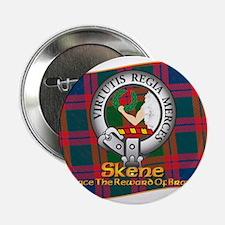 """Skene Clan 2.25"""" Button"""
