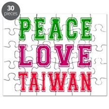 Peace Love Taiwan Puzzle