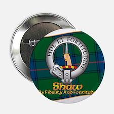 """Shaw Clan 2.25"""" Button"""