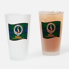 Shaw Clan Drinking Glass