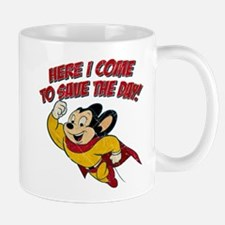 Here I Come to Save the Day Small Small Mug