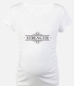 Strength Calligraphy Shirt