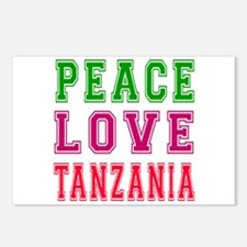 Peace Love Tanzania Postcards (Package of 8)