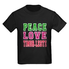Peace Love Timor-Leste T