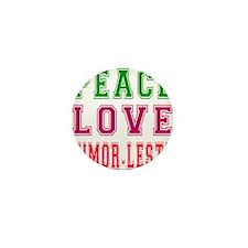 Peace Love Timor-Leste Mini Button