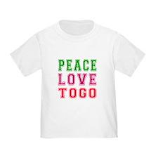 Peace Love Togo T
