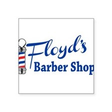 Floyds Barbershop Sticker