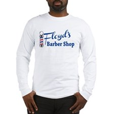 Floyds Barbershop Long Sleeve T-Shirt