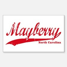 Mayberry North Carolina Decal
