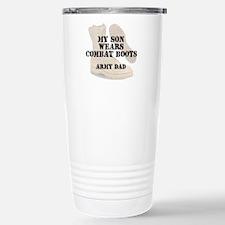 Army Dad Son wears DCB Travel Mug