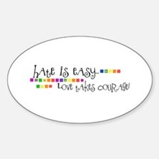 Hate is Easy... Decal