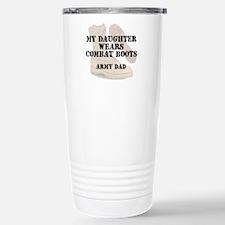Army Dad Daughter wears DCB Travel Mug