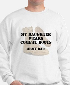 Army Dad Daughter wears DCB Jumper