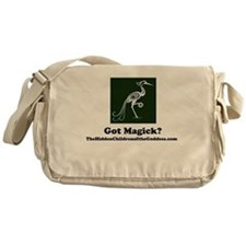Funny Pagan children Messenger Bag