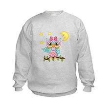 Not Me Girl Owl Sweatshirt