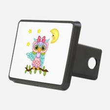 Not Me Girl Owl Hitch Cover
