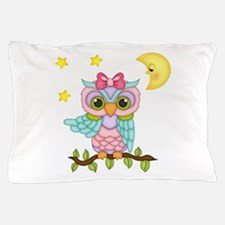 Not Me Girl Owl Pillow Case