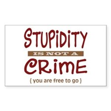Stupidity - Decal