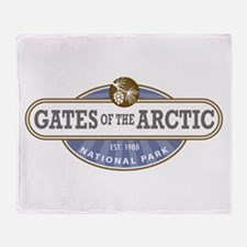 Gates of the Arctic National Park Throw Blanket