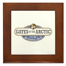 Gates of the Arctic National Park Framed Tile