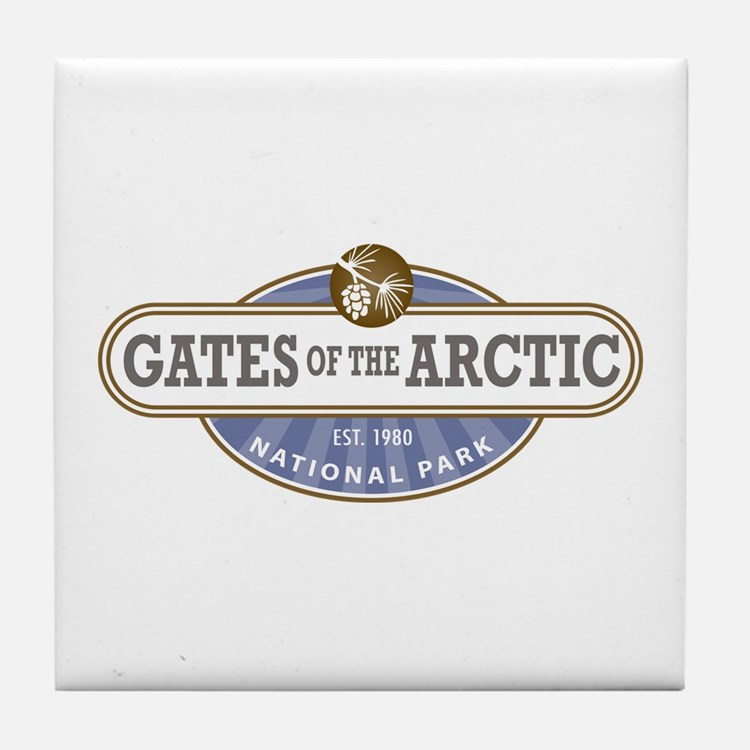 Gates of the Arctic National Park Tile Coaster