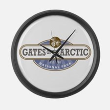 Gates of the Arctic National Park Large Wall Clock