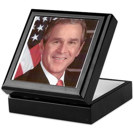 George Bush Keepsake Box