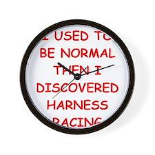 HARNESS Wall Clock