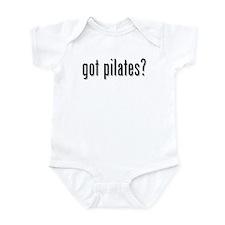 got pilates? Infant Bodysuit