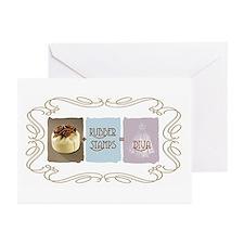 Sweet Sanity Diva Greeting Cards (Pk of 10)