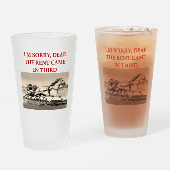 1RACE2 Drinking Glass