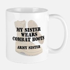 Army Sister wears DCB Mugs