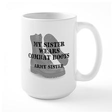 Army Sister wears CB Mugs