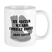 Army Sister wears CB Mugs