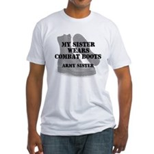 Army Sister wears CB T-Shirt
